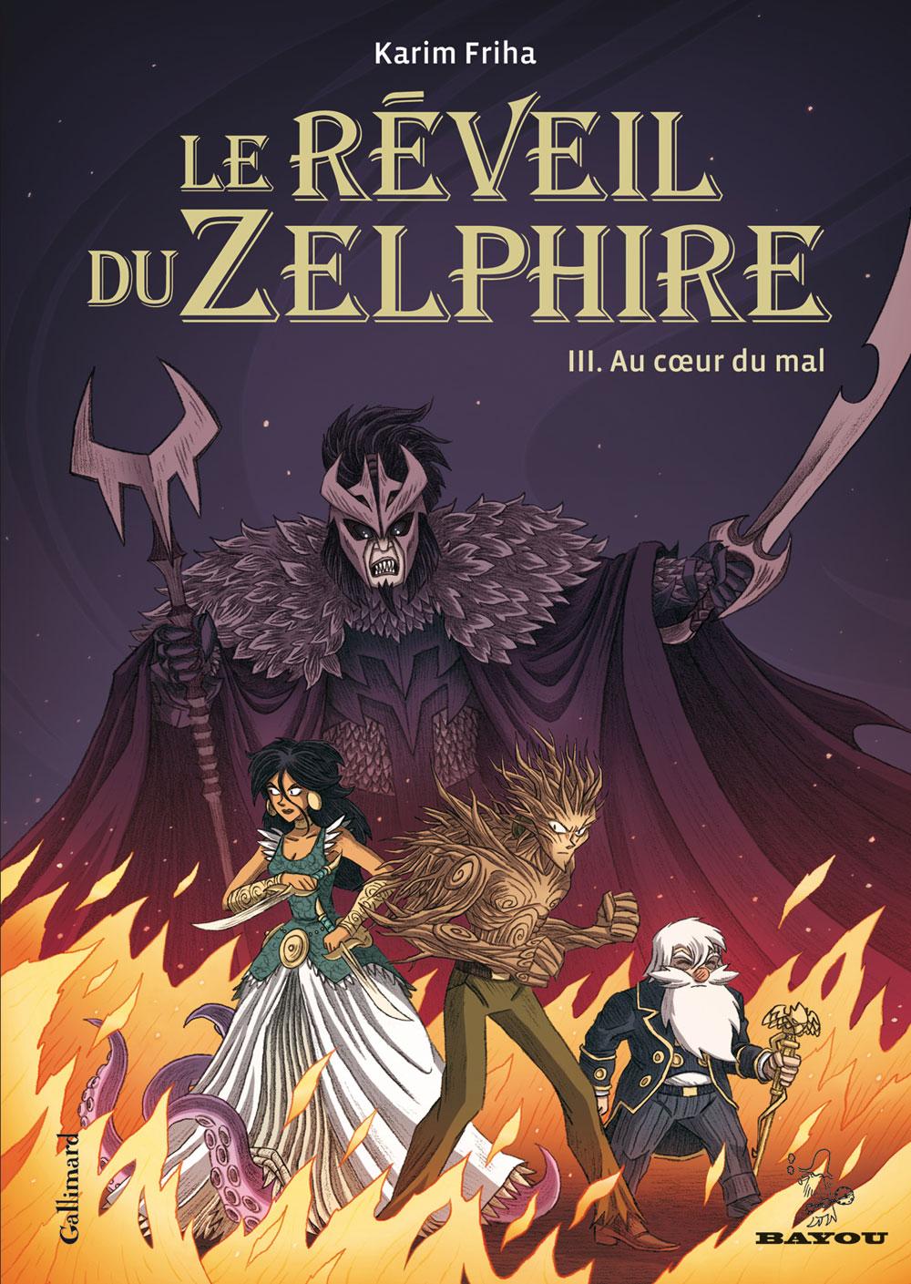 Reveil du zelphire - Au coeur du mal - Karim Friha