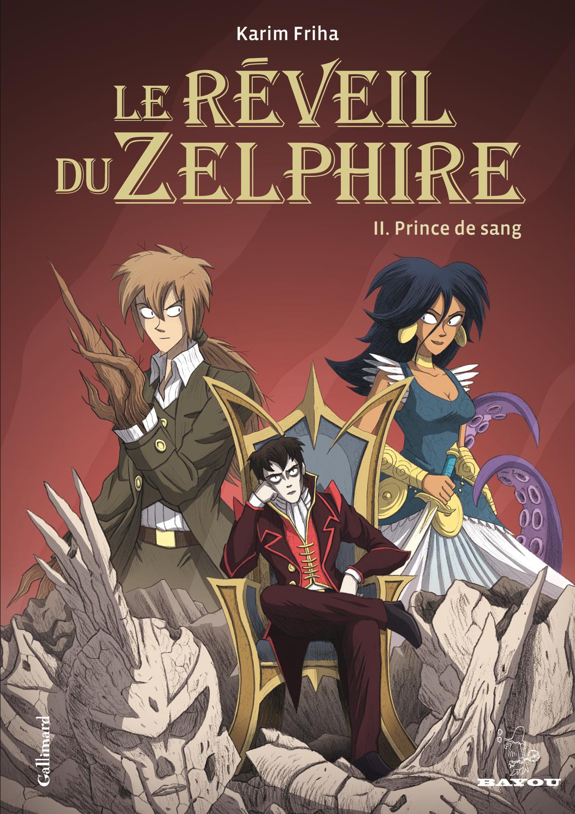 Reveil du zelphire - Prince de Sang - Karim Friha