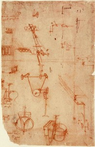 Codex Atlanticus by Leonardo Da Vinci