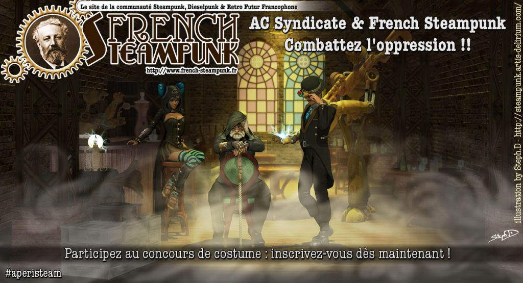 Concours Assassin's Creed & French Steampunk