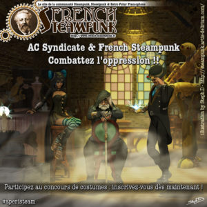 Vignette concours Assassin's Creed & French Steampunk