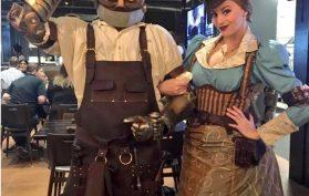 Staff Steampunk Costumes
