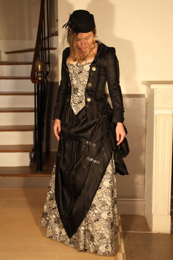 Patron couture robe belle epoque