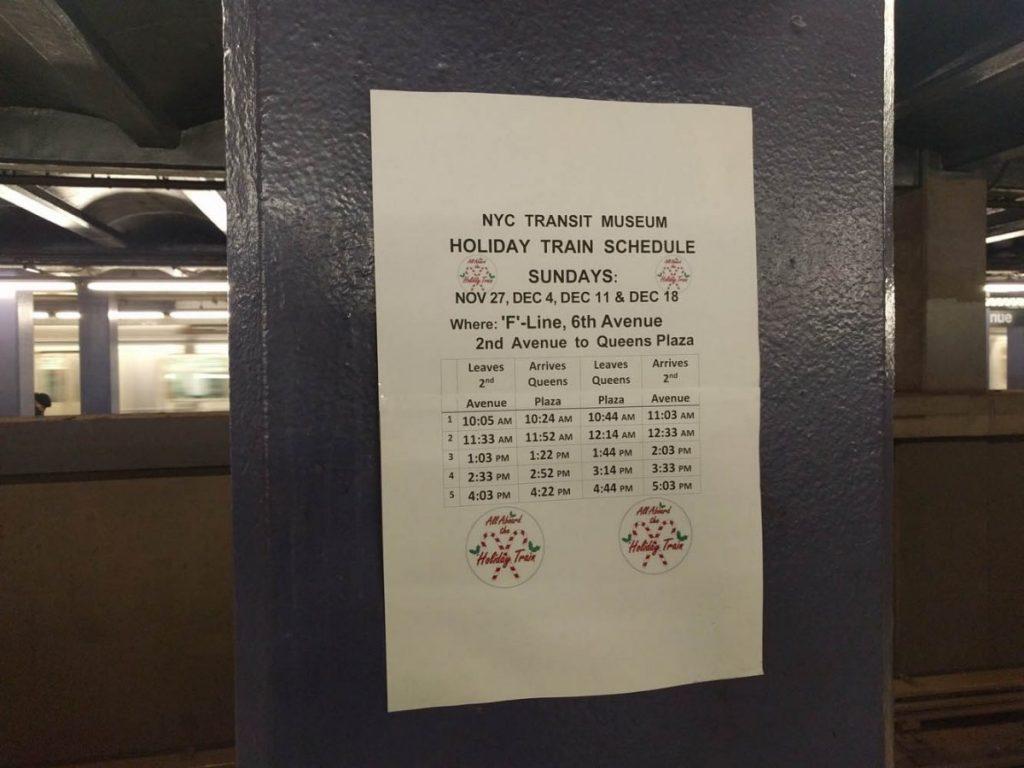 On peut constater que le train circule de 10 heures le matin jusqu'à 17 heures l'après-midi.