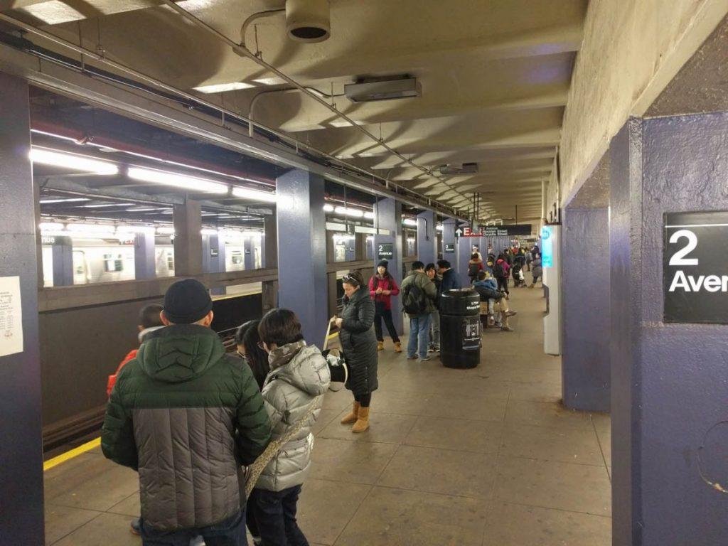 On peut faire la différence entre les touristes et les New-Yorkais assez facilement après avoir vécu ici quelque temps.