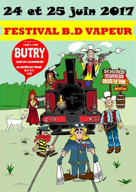 1ER FESTIVAL BD VAPEUR EN FRANCE
