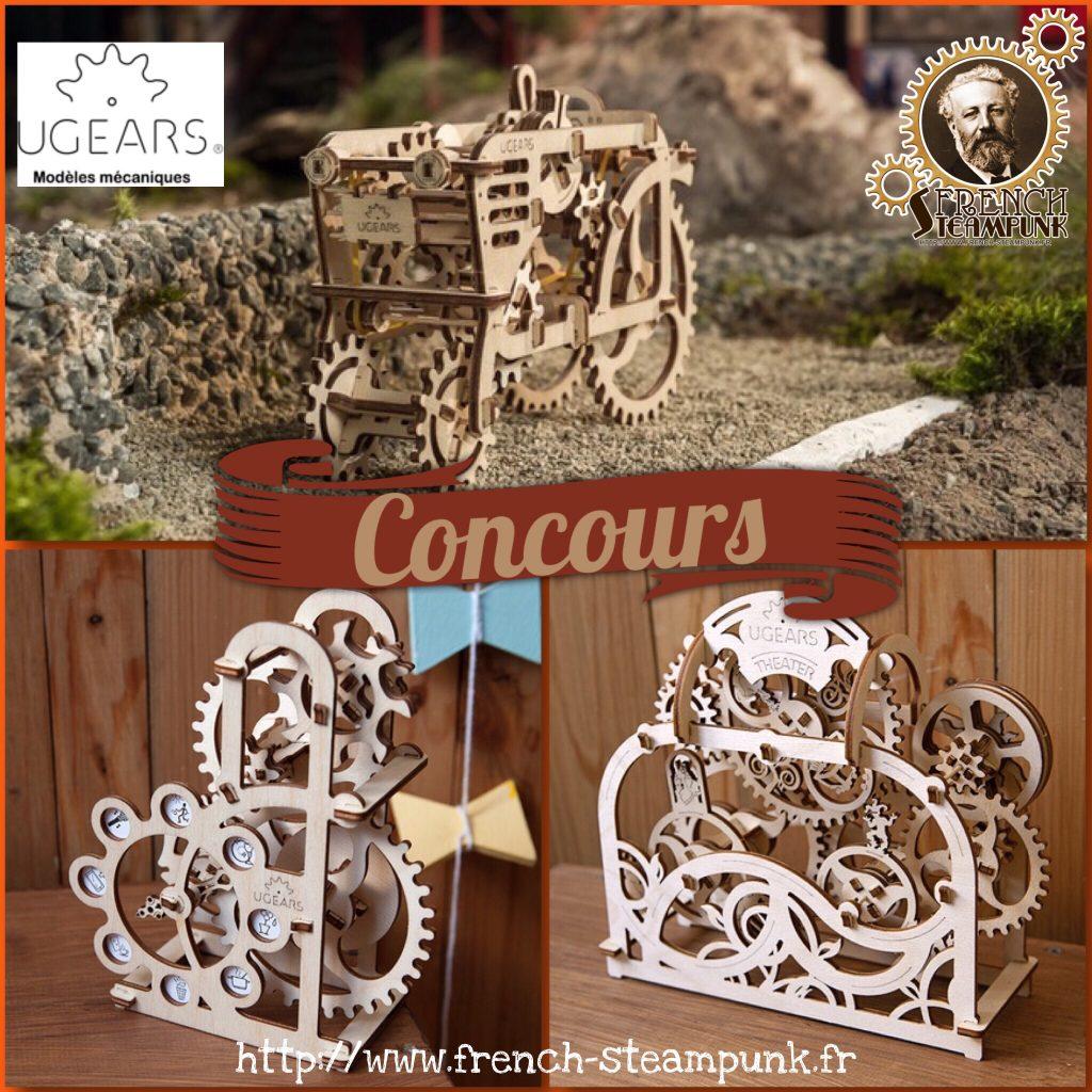 CONCOURS : Gagnez 3 Puzzles 3d Mécanique en bois – Ugears