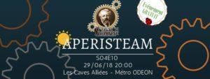 Aperisteam - Paris version été // S04E10 @ Les Caves Alliées | Paris | Île-de-France | France